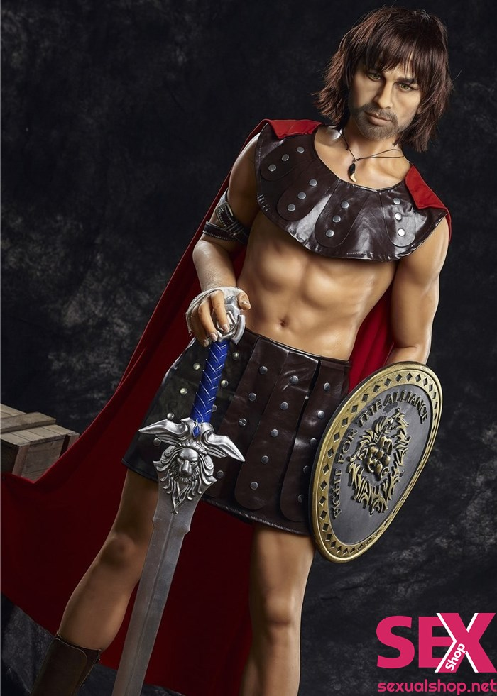 SexsualShop 5'4 Male Sex Doll - Clint The Spartacus